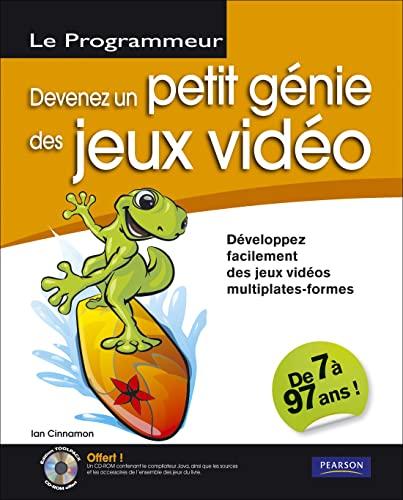 9782744022791: Devenez un petit génie des jeux vidéo (1Cédérom) (French Edition)