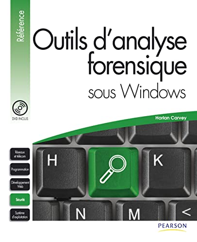 9782744024306: Outils d'analyse forensique sous Windows (1DVD) (French Edition)