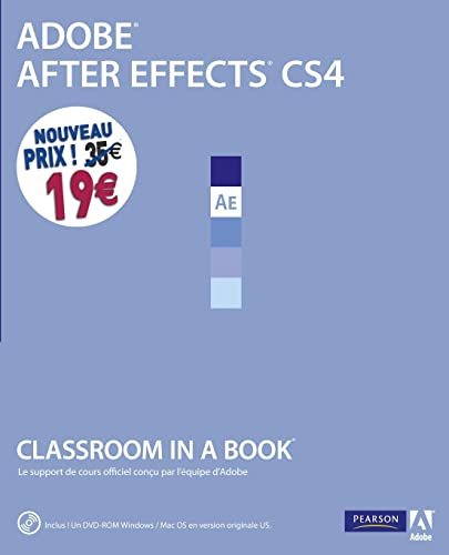 9782744024993: Adobe After Effects CS4 (1DVD) (Classroom in a book)