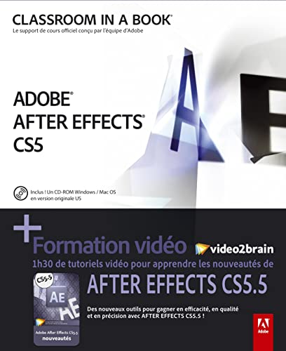 9782744025143: After Effects CS 5.5 + formation vid�o2brain