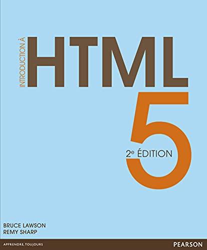 9782744025303: Introduction à HTML5