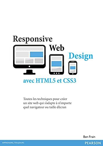 9782744025679: Responsive web design avec HTML5 et CSS3
