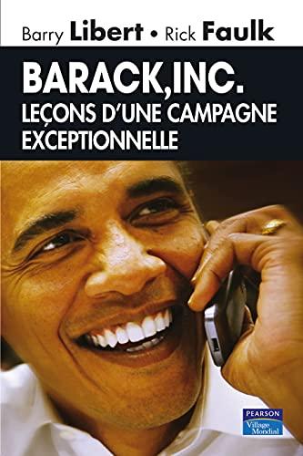 9782744063886: Barack, Inc. : Leçons d'une campagne exceptionnelle