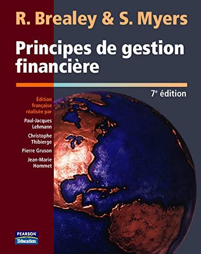 9782744070044: Principes De Gestion Financiere