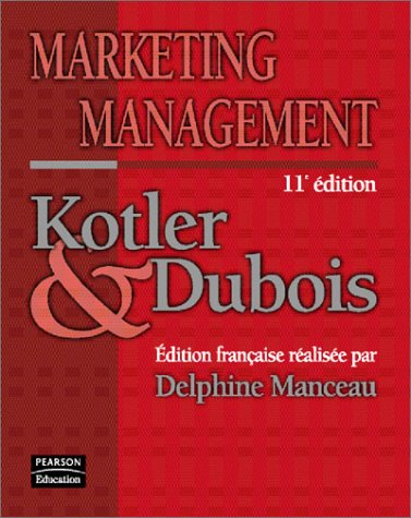 9782744070082: Marketing management, 11e édition