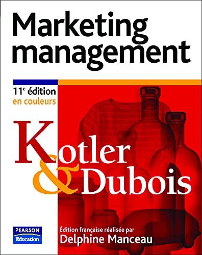 9782744070402: Marketing Management (Quadri) (French)