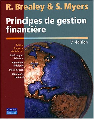 9782744070761: Coffret Principes de gestion financi�re (+ Corrig�s)