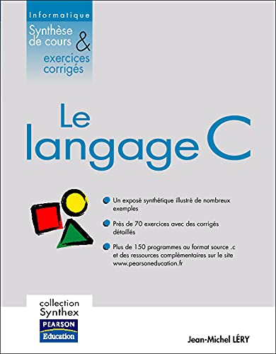 9782744070860: Langage C - Collection Synthex