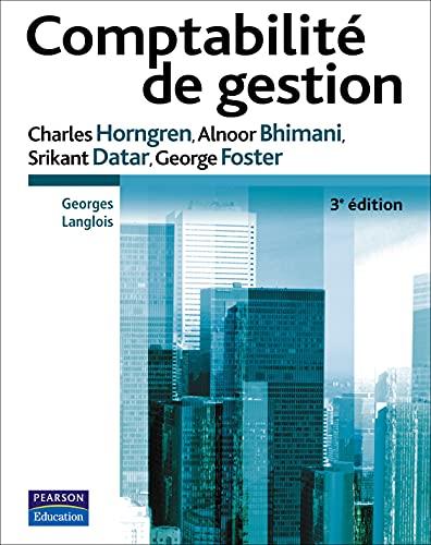 9782744071584: Horngren:Comptabilite de Gestion_p3