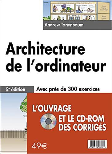 9782744071836: Architecture de l'ordinateur (1Cédérom)