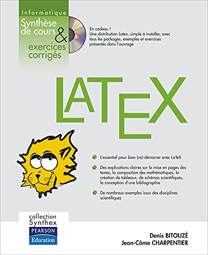 9782744071874: LaTeX + CD Rom: Collection Synthex