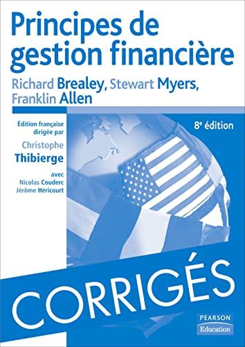 9782744072000: Corrigés Principes de gestion financière