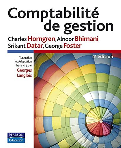9782744073656: Comptabilité de gestion (French Edition)