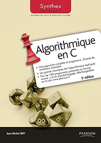 9782744074790: Algorithmique en C (French Edition)