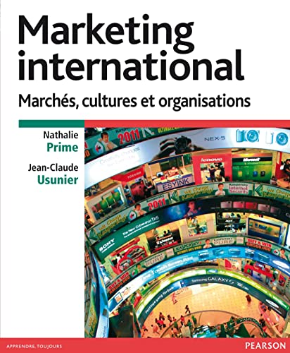 9782744074868: strategies de marketing international - marches, cultures et organisations