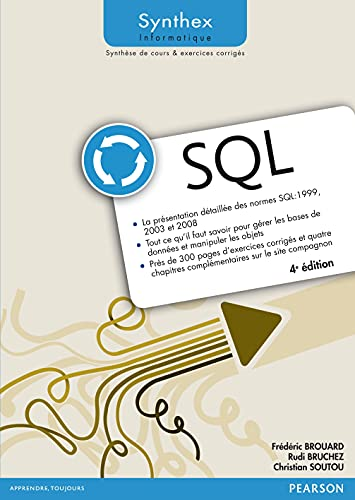 9782744076305: SQL 4e édition Synthex