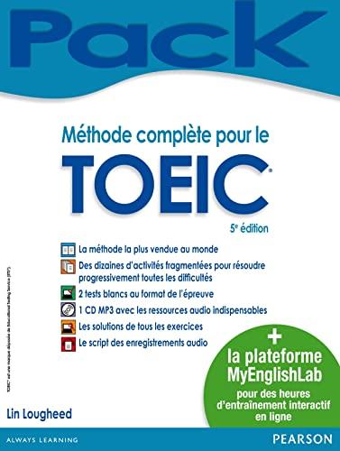 9782744076435: Méthode complète pour le TOEIC® + MyEnglishLab : livre + plateforme de préparation en ligne pour un entraînement personnalisé