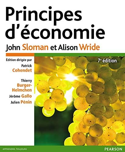 9782744076442: Principes d'économie