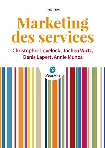 9782744076633: Marketing des services 7e édition