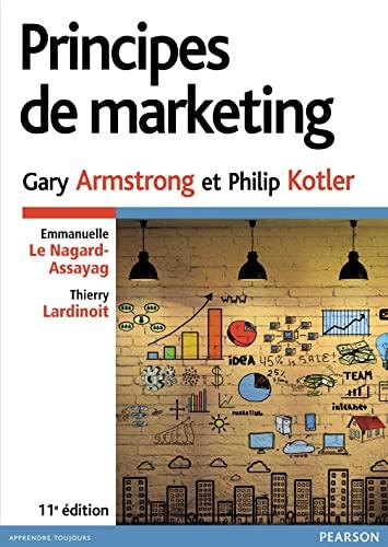 9782744076695: Principes de marketing 11e ed