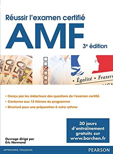 9782744076831: Réussir l'examen certifié AMF 3è édition