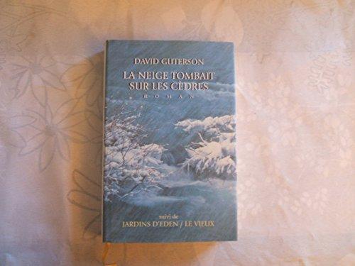 9782744102868: La neige tombait sur les cèdres
