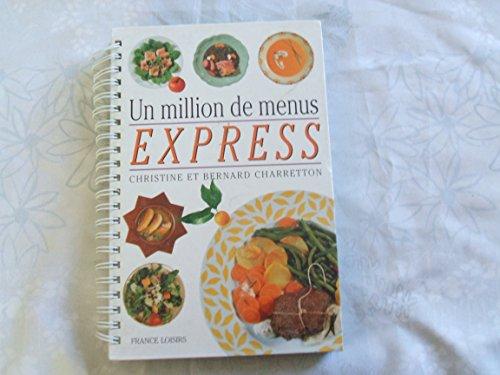 9782744122446: Un million de menus express