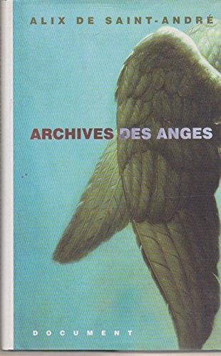 Archives des Anges: Essai: Alix de Saint-Andre