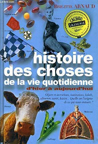 Histoire des choses de la vie quotidienne: Arnaud Brigitte
