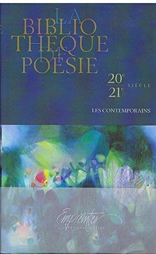 9782744175237 La Bibliotheque De Poesie 20e 21e Siecle