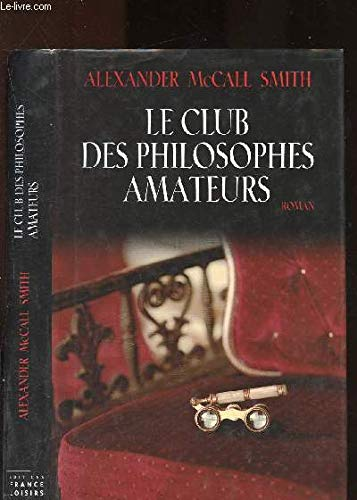Isabel Dalhousie Set 1-3: The Sunday Philosophy Club; Friends, Lovers, and Chocolate; The Right Attitude to Rain (friends lovers chocolate) (2744183504) by Alexander McCall Smith
