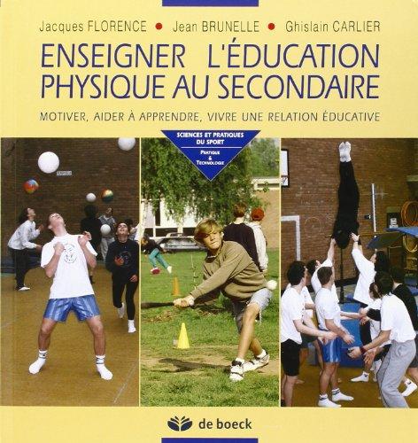ENSEIGNER EDUCATION PHYSIQUE AU SECONDAI: FLORENCE CARLIER