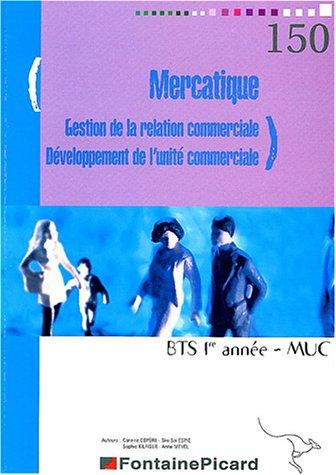 9782744612046: Mercatique GRC - DUC BTS MUSC 1ère année