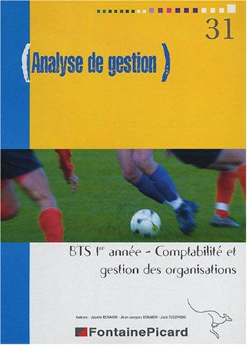 9782744612787: Analyse de gestion BTS CGO 1re année