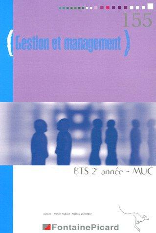 9782744612985: Gestion et management BTS MUC STS 2e année