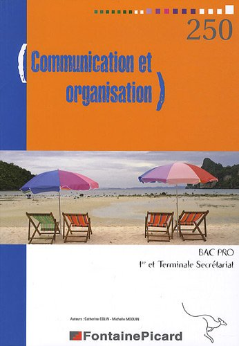 9782744621321: communication et organisation bac pro secretariat