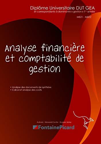 9782744623806: Analyse financière et comptabilité de gestion DUT GEA 1re année
