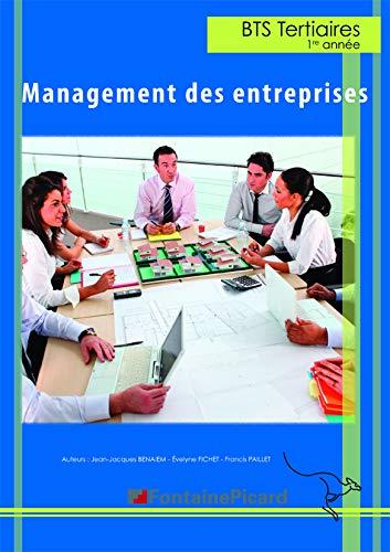 9782744625053: Management des entreprises BTS 1re ann�e