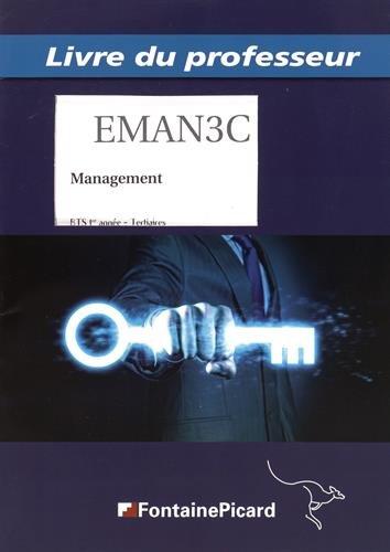 9782744626449: Management BTS tertiaires 1re année : Livre du professeur