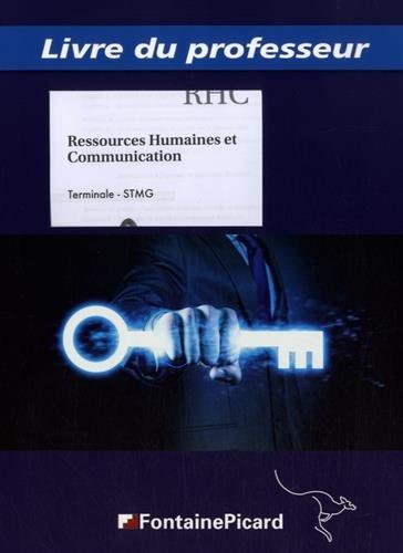 9782744627002: Livre du professeur ressources humaines et communication terminale stmg