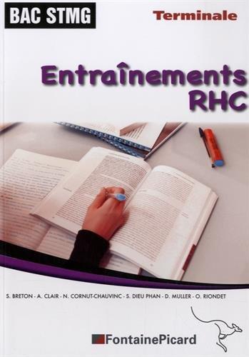 9782744627217: Entra�nements RHC Tle STMG