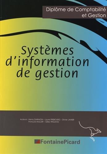 9782744627477: Système d'information de gestion DCG