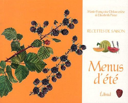 9782744909047: Menus d ete (Recettes de saison)