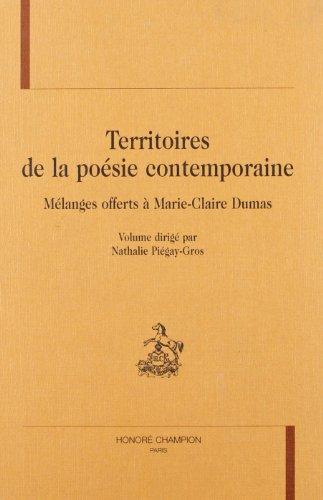 9782745303721: Territoires de la poesie contemporaine.