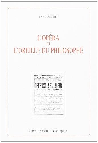 9782745303936: L'Opéra et l'Oreille du philosophe