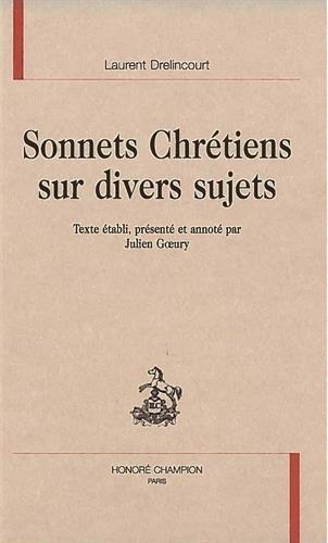 9782745309273: Sonnets chrétiens sur divers sujets