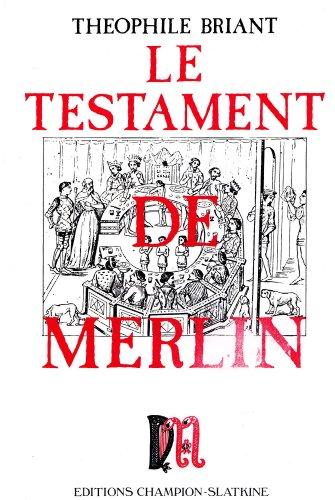 9782745309792: Le testament de Merlin