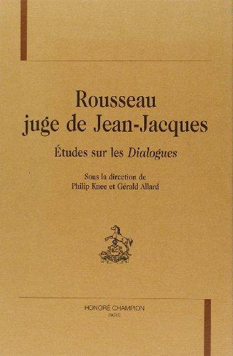 ROUSSEAU JUGE DE JEAN JACQUES ETUDES DIA: KNEE PH ALLARD G