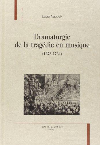 9782745310248: Dramaturgie de la tragédie en musique