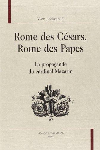 Rome des césars, Rome des papes: la: Yvan Loskoutoff
